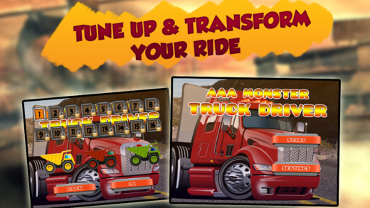 Addictive Monster Truck Delivery Game