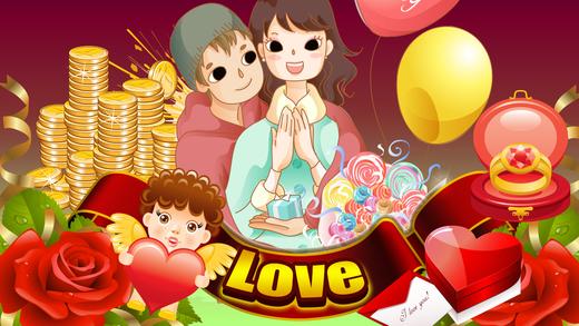 Best Valentine's Day of Las Vegas Casino - Lucky Heart Slots Blackjack Bonanza Poker Stars Social Ro