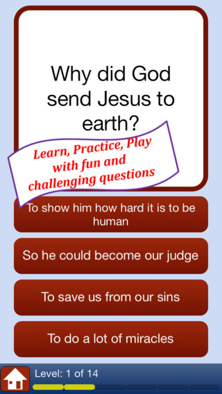 New Testament Life of Jesus - Holy Bible Quiz Game