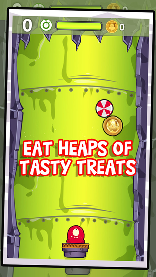 Crunching Monsters - eat candy avoid the spikes