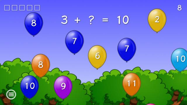 Balloon Math for Kids