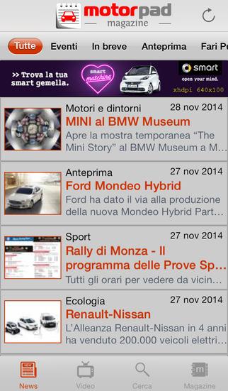 MotorPad Magazine