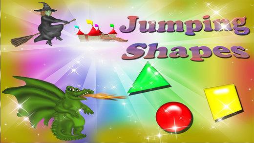 Basic Shapes Jump Magical Jumping Shapes Fun Game