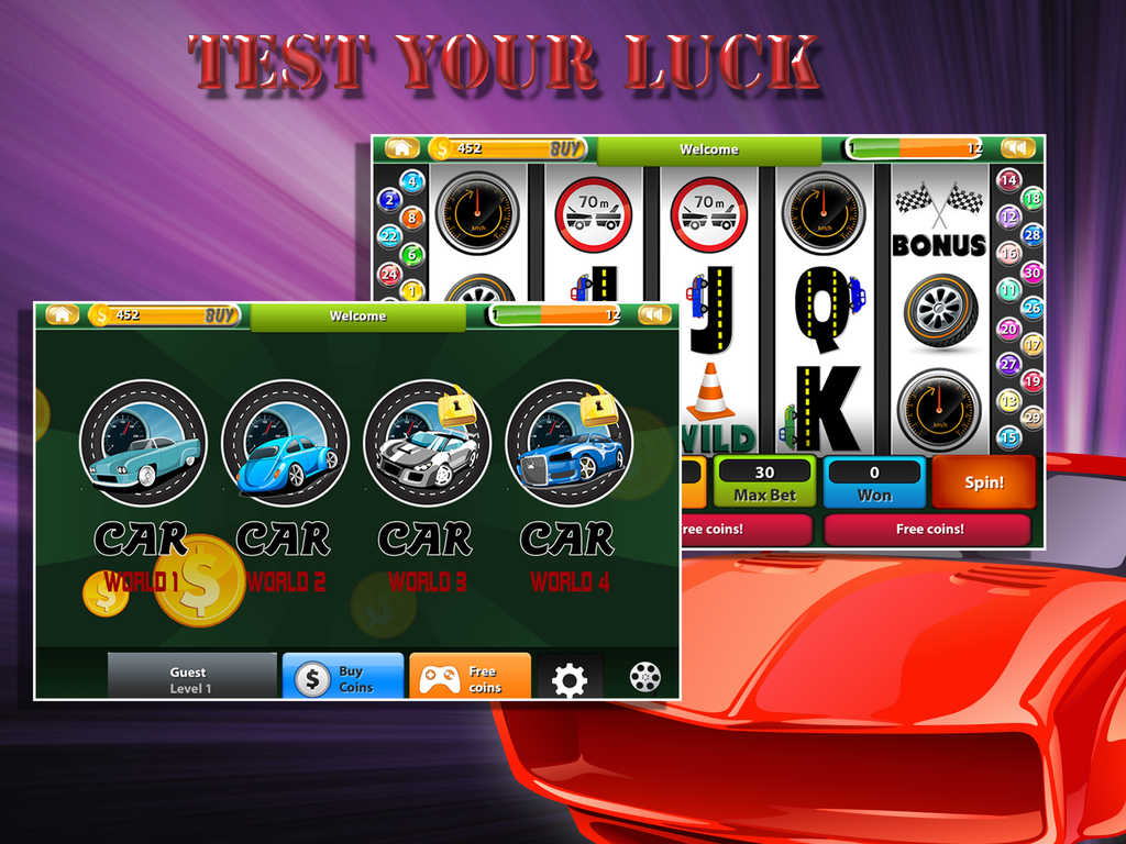 Vegas Road Trip Slot Machine - Free to Play Demo Version