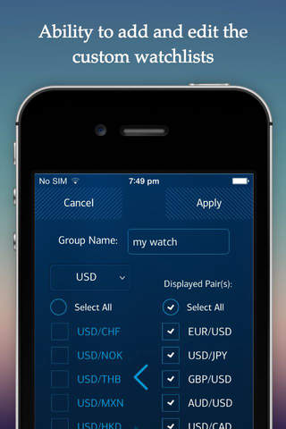Instinct FX Mobile screenshot 2