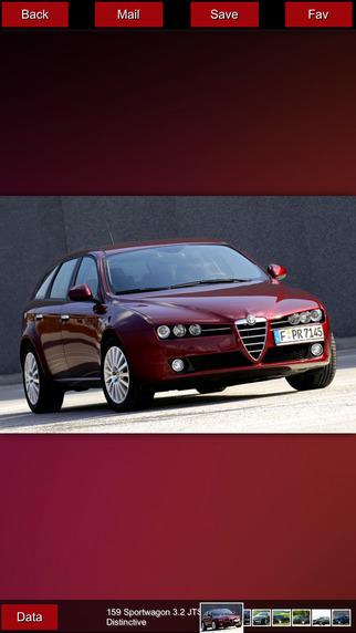 Alfa Romeo Specifications