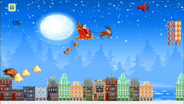 Santa In The Sky - Xmas Flying Simulator For Boys And Girls 3D FREE by The Other Games