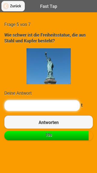 FastTap Quiz