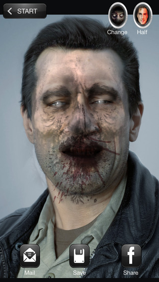 ZOMBIEBOOTH MORPHING FACE EDITOR