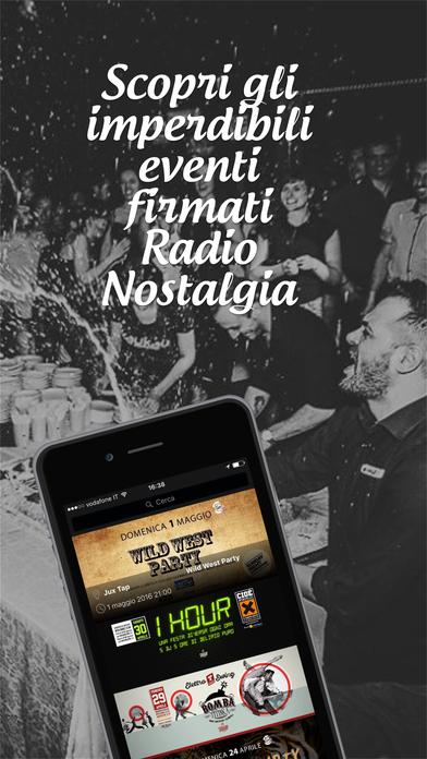 Radio Nostalgia Toscana - Lazio iPhone Screenshot 5