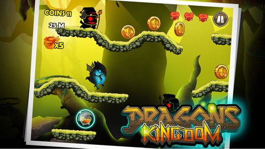 Dragons Kingdom Premium – Dark Badlands Dragon Era Limbo Monster Game