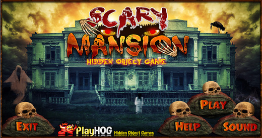 Scary Mansion - Free Hidden Object Games