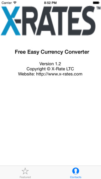 Free Easy Currency Converter from X-Rate
