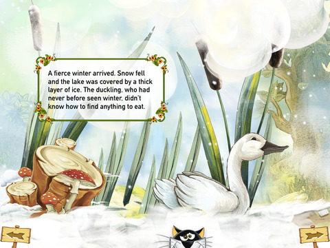 The Ugly Duckling Interactive Danish Fairy Tale by H.C. Andersen iPad Screenshot 4