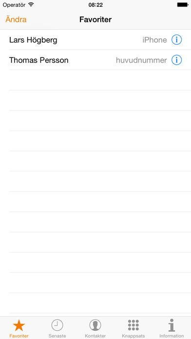 DialApp iPhone Screenshot 3