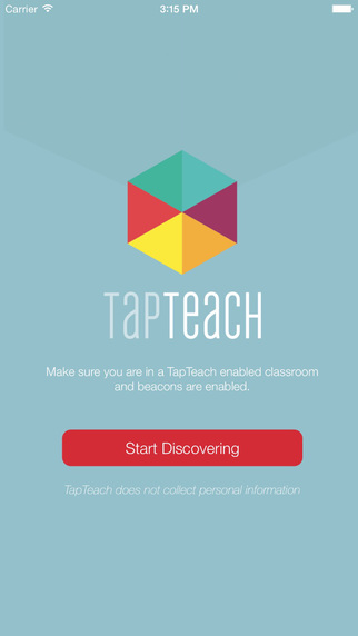 TapTeach Discovery : An engagement platform for educators and their students