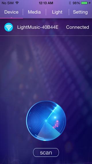 Wifi Light Music