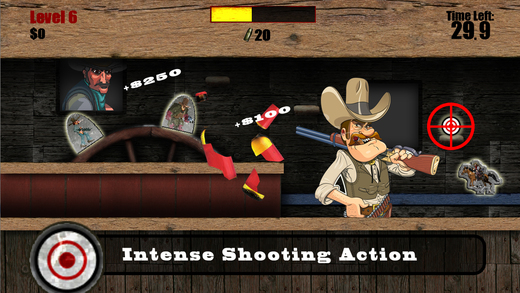 Bounty Hunter Showdown - Target Shooting Gallery