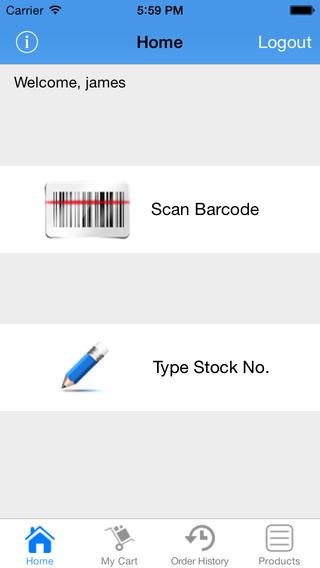 Johnson Supply Order Online App