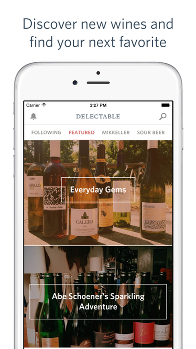 Delectable Wines - Wine Scanner, Ratings & Reviews screenshot