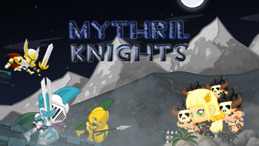 Mythril Knights – A Knight's Legend of Elves Orcs and Monsters