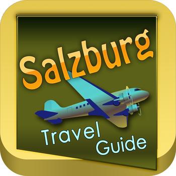 Salzburg Offline Map Travel Guide LOGO-APP點子