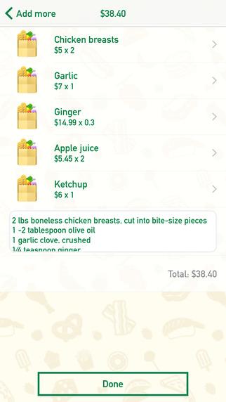 玩免費生產應用APP|下載ThatList – Grocery Shopping List Free app不用錢|硬是要APP
