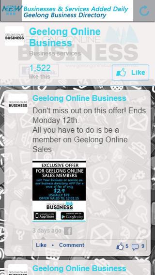 Geelong Online Business