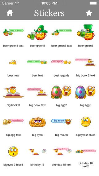 Stickers for iMessage Kik Messenger LINE Tango Zalo