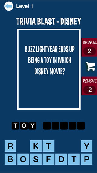 Trivia Blast - Disney Edition