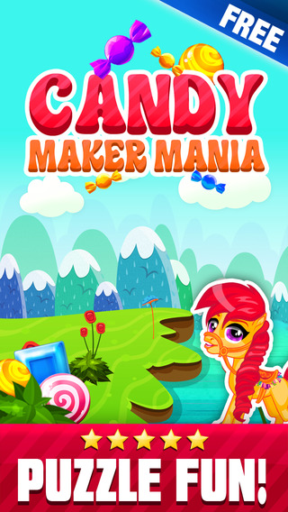 Candy Maker Mania - Soda Pop Match 3 Blitz Puzzle Game
