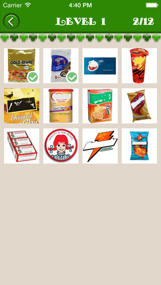 Guess Food Product - Food Product Name