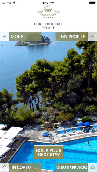 Corfu Palace Hotel for iPhone