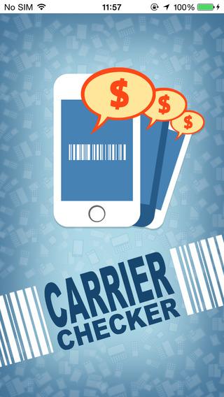 Carrier Checker