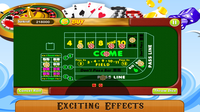craps table picture free download 2
