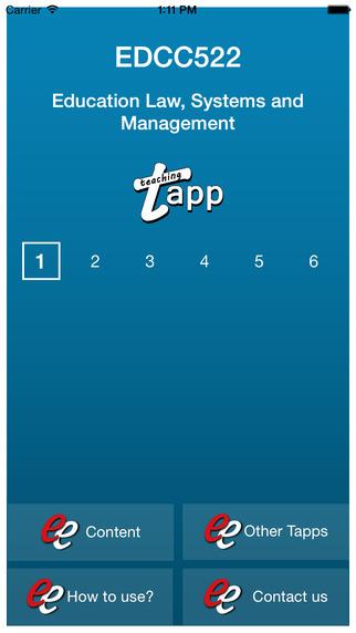 TAPP EDCC522 ENG6