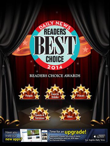 L.A. Daily News Readers Choice Awards