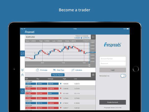 Finspreads for iPad