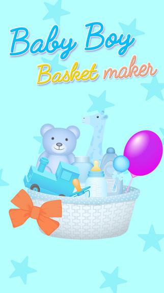 Newborn Baby Boy Basket Maker