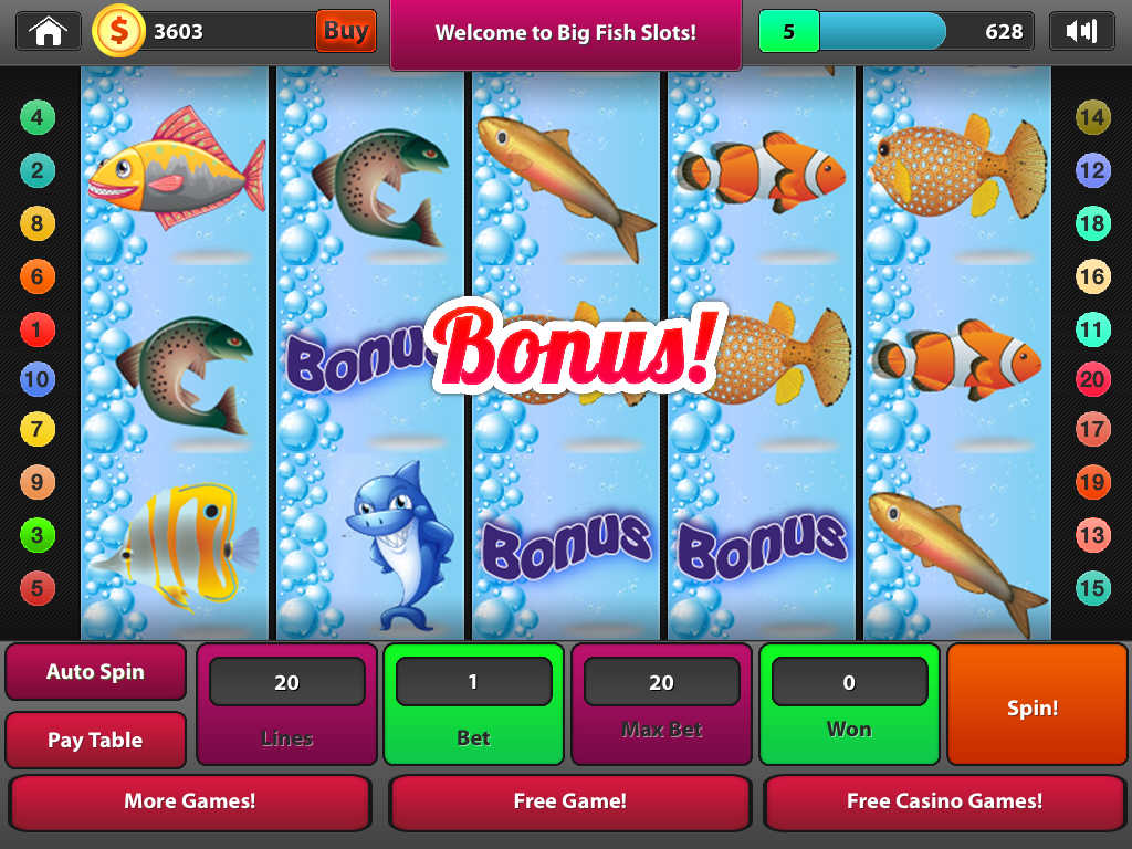 App shopper fish slots big win casino game games for Big fish slot