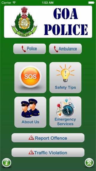 Goa Police app