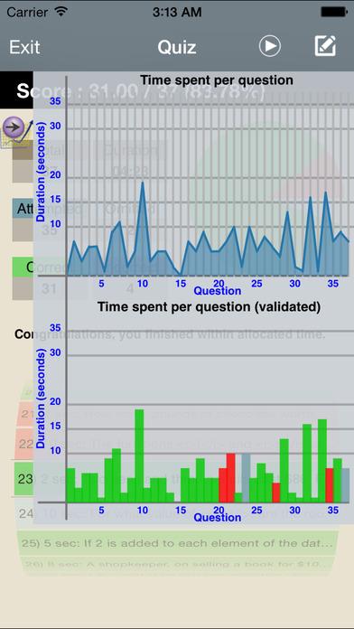 PSAT Math Aptitude iPhone Screenshot 5