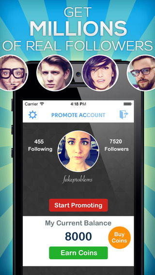 Follow Me + PRO for Instagram – Get More Followers Likes on Photos Real Fast Easy