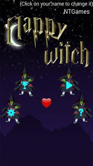 Flappy Witch HD