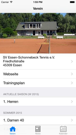 SV Schonnebeck Tennis