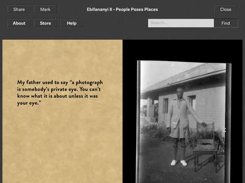 Ebifananyi II People Poses Places