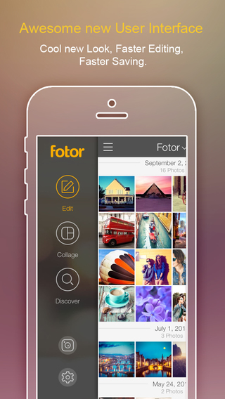 Fotor Photo Editor Cam – Photo Collage Picture Captions Photo Effects Filters and Frames