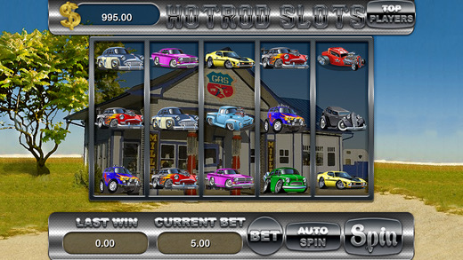 AAA Hot Rod Casino Slots Machine