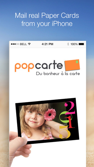 Popcarte - Send personalized and printed Postcards for Holidays Birthdays and Greeting Card for 2015