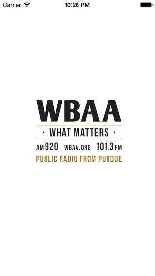 WBAA Public Radio App